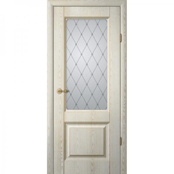 Межкомнатная дверь Тициан 1 ПО с патиной