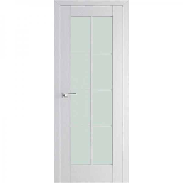 МЕЖКОМНАТНАЯ ДВЕРЬ PROFIL DOORS 101x (стекло узор) Пекан белый