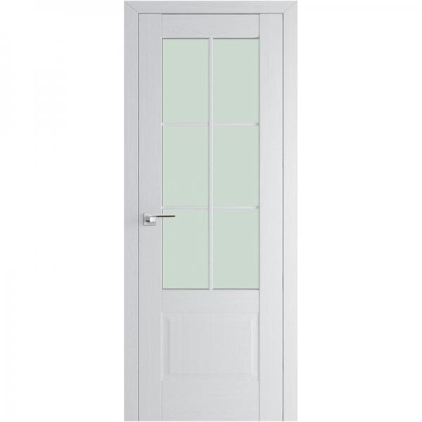 МЕЖКОМНАТНАЯ ДВЕРЬ PROFIL DOORS 103x (стекло узор) Пекан белый
