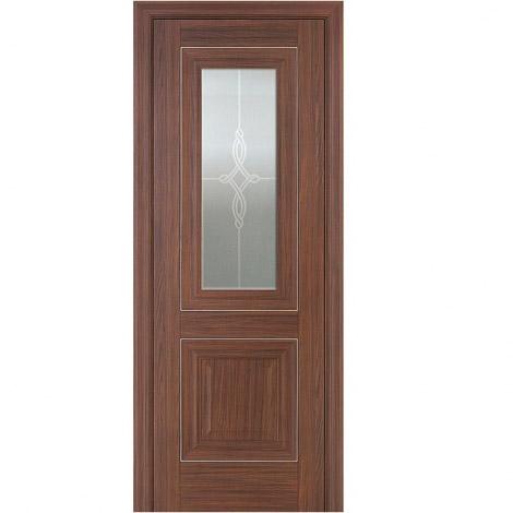 МЕЖКОМНАТНАЯ ДВЕРЬ PROFIL DOORS 28x (стекло узор) Натвуд Натинга