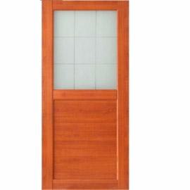 Межкомнатные двери МДФ, «Ладора» экошпон серия «КВАДРО 2/2» Вишня