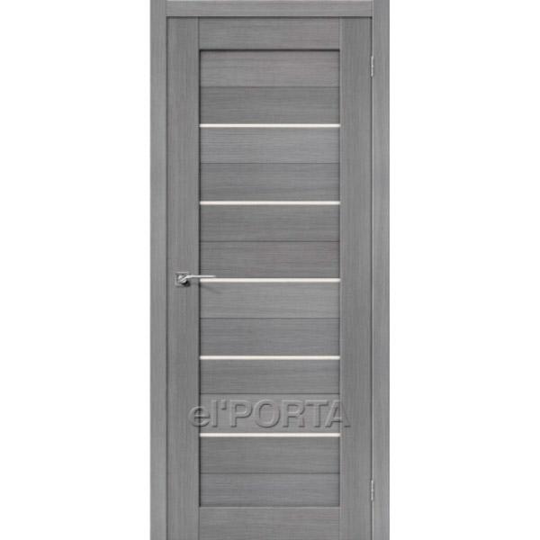 Дверь межкомнатная экошпон Эльпорта Порта 22 3D Cappuccino Elporta Porta X