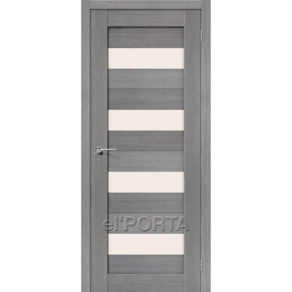 Дверь межкомнатная экошпон Эльпорта Порта 23 3D Grey Elporta Porta X