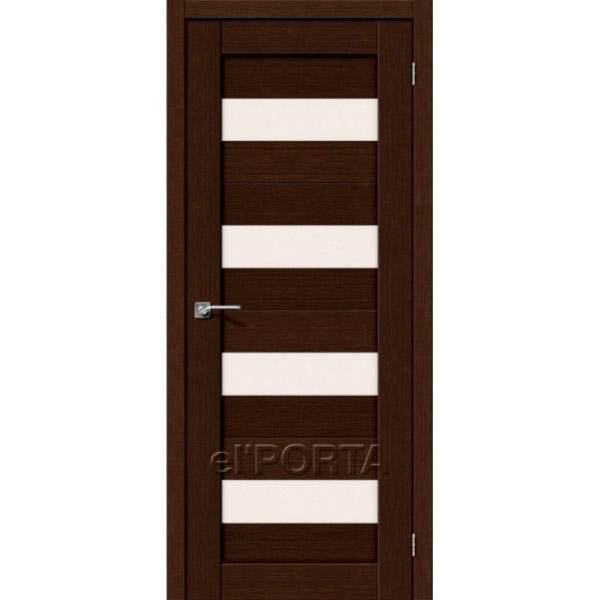 Дверь межкомнатная экошпон Эльпорта Порта 23 3D Wenge Elporta Porta X