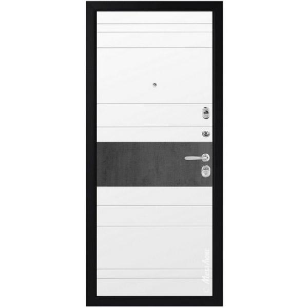 Входная дверь МетаЛюкс М714 СТАТУС