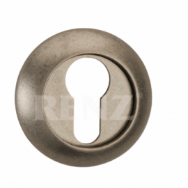 Накладка круглая на цилиндр RENZ ET (N) 08 SN/NP Хром матовый\хром