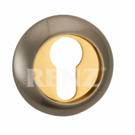 Накладка круглая на цилиндр RENZ ET (N) 08 AC Античная медь