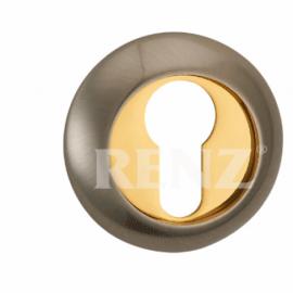 Накладка круглая на цилиндр RENZ ET (N) 08 CF Кофе