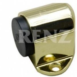 Ограничитель дверной напольный RENZ DS 31 PB Латунь блестящая