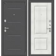 Дверь входная ЭльПОРТА Porta S 104.К32 Антик Серебро/Bianco Veralinga