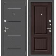 Дверь входная ЭльПОРТА Porta S 104.К32 Антик Серебро/Wenge Veralinga