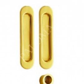 Ручки для раздвижных дверей RENZ SDH 501 GP Латунь блестящая