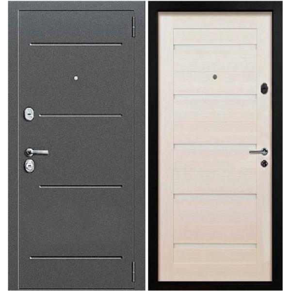 Дверь входная металлическая Стал СП01 Bianco