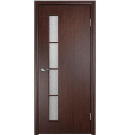 Межкомнатная дверь МДФ ламинированная Verda ПО С14 Венге