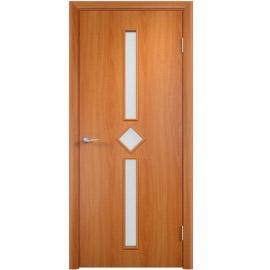 Межкомнатная дверь МДФ ламинированная Verda ПО С24 Миланский орех