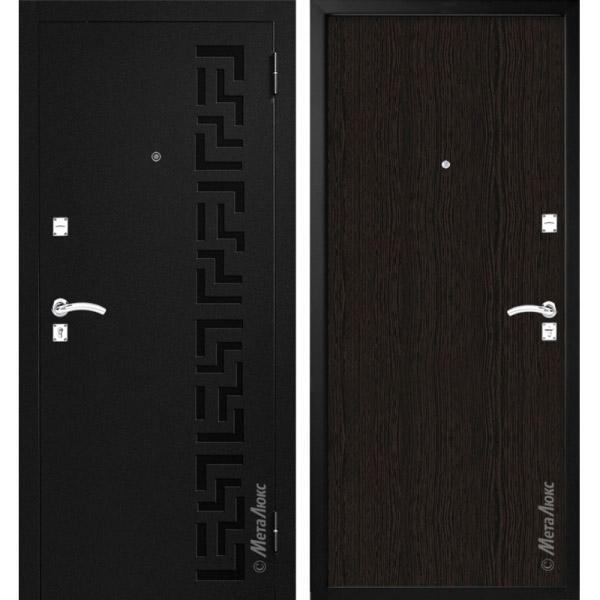 Дверь входная металлическая МетаЛюкс М100