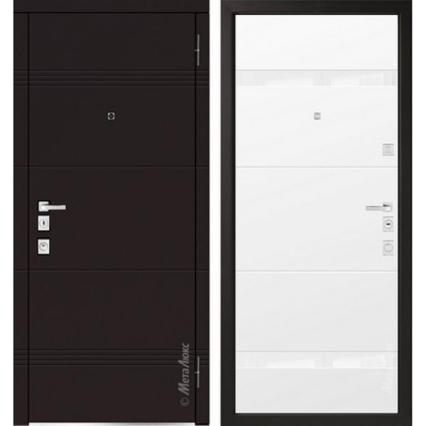 Дверь входная металлическая  «Металюкс»  М1301/1  Милано