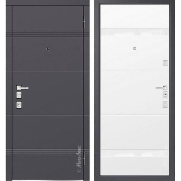 Дверь входная металлическая  «Металюкс»  М1301/3  Милано