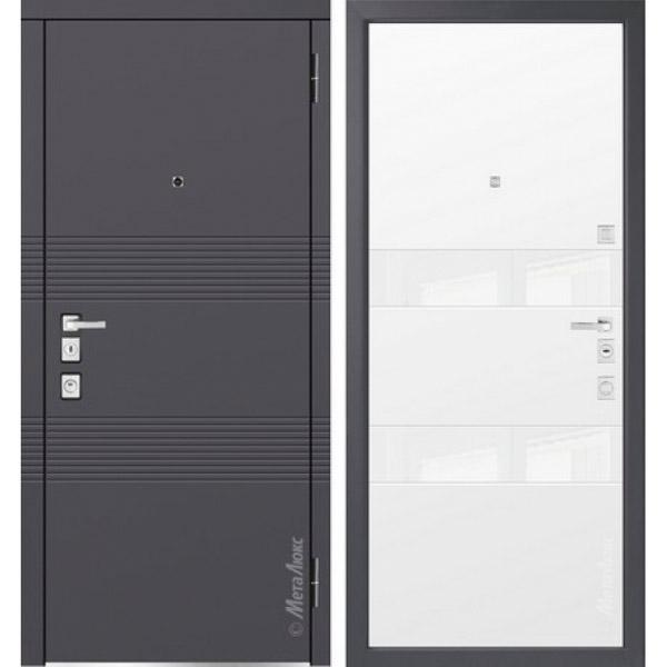 Дверь входная металлическая  «Металюкс»  М1302/1  Милано