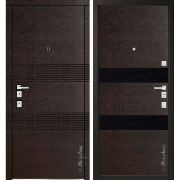 Дверь входная металлическая  «Металюкс»  М1302/2  Милано