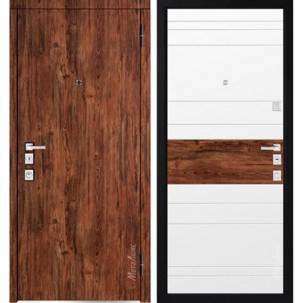 Дверь входная металлическая  «Металюкс»  М1400/1  Милано