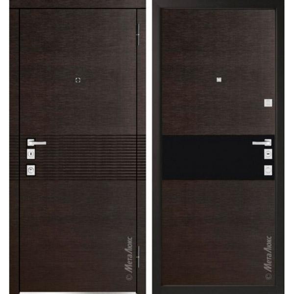 Дверь входная металлическая  «Металюкс»  М1401  Милано