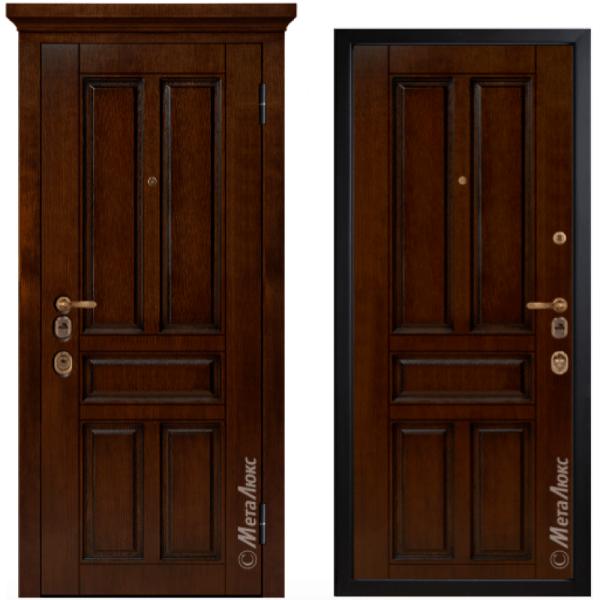 Дверь входная МетаЛюкс ArtWood М1701/11
