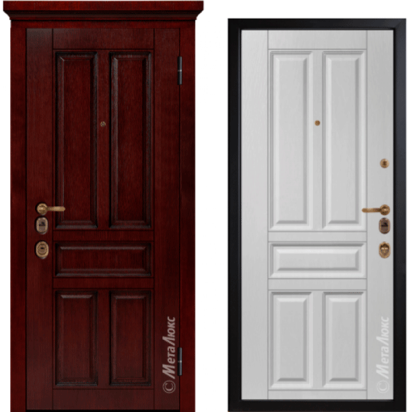 Дверь входная МетаЛюкс ArtWood М1704/19