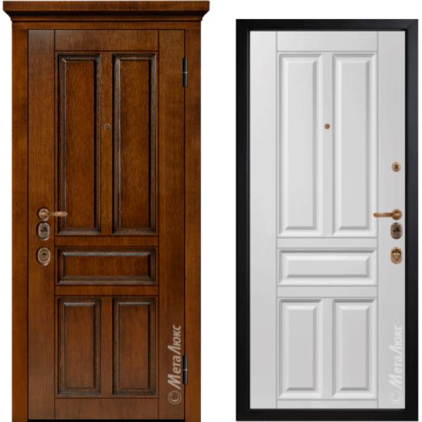 Дверь входная МетаЛюкс ArtWood М1704/3 Е2