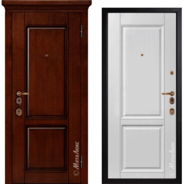 Дверь входная МетаЛюкс ArtWood М1706/23