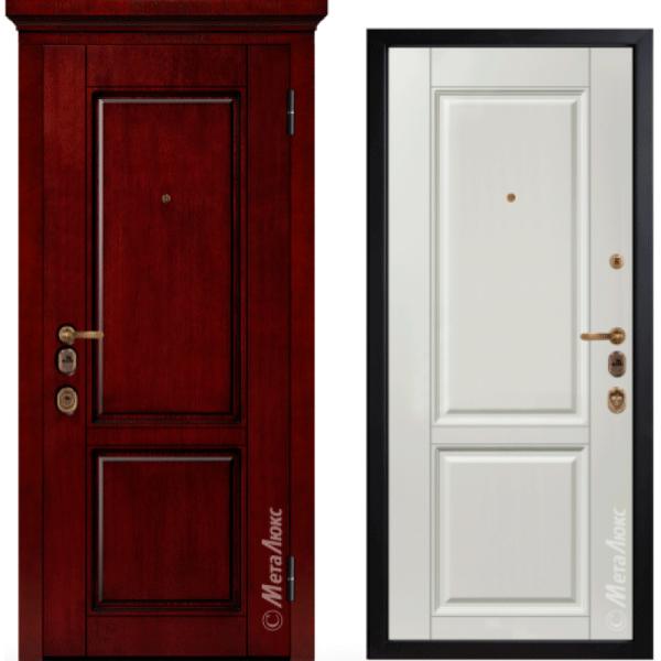 Дверь входная МетаЛюкс ArtWood М1706/4 E2