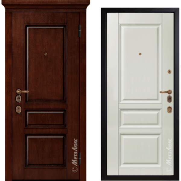 Дверь входная МетаЛюкс ArtWood М1707/6 Е2
