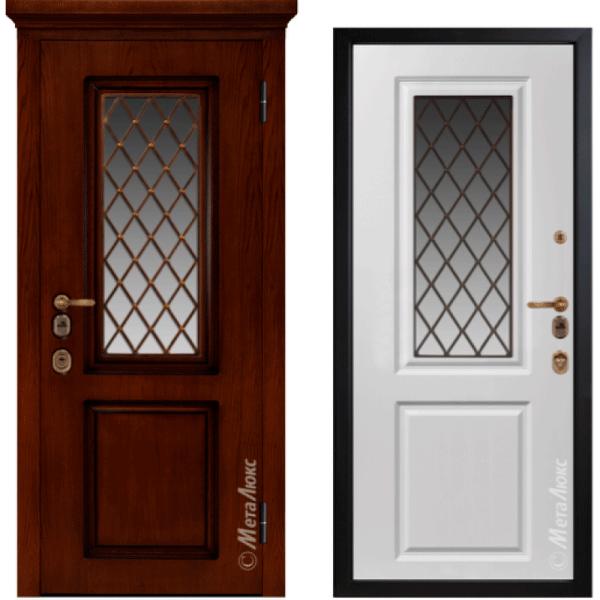 Дверь входная МетаЛюкс ArtWood М1710/23