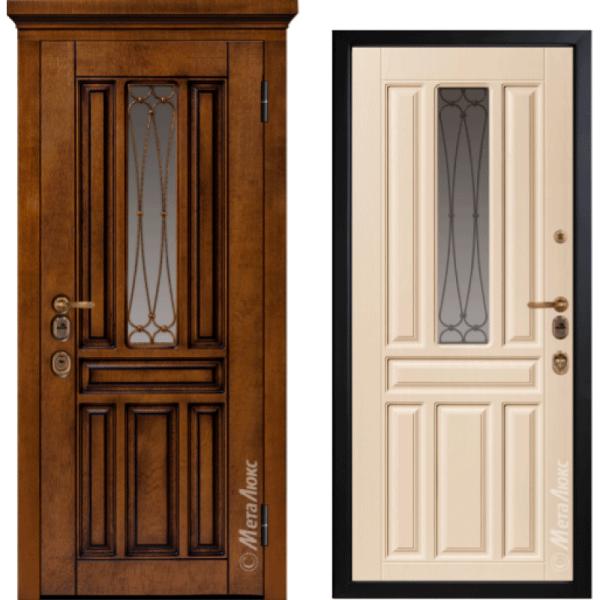 Дверь входная МетаЛюкс ArtWood М1711/15