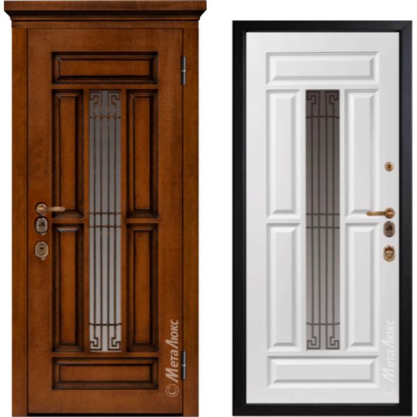 Дверь входная МетаЛюкс ArtWood М1712/3 Е2