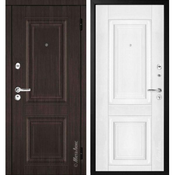 Дверь входная металлическая МетаЛюкс М34/2