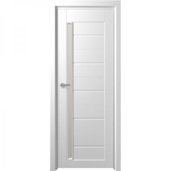 Межкомнатная дверь F-4 ПО  Белый