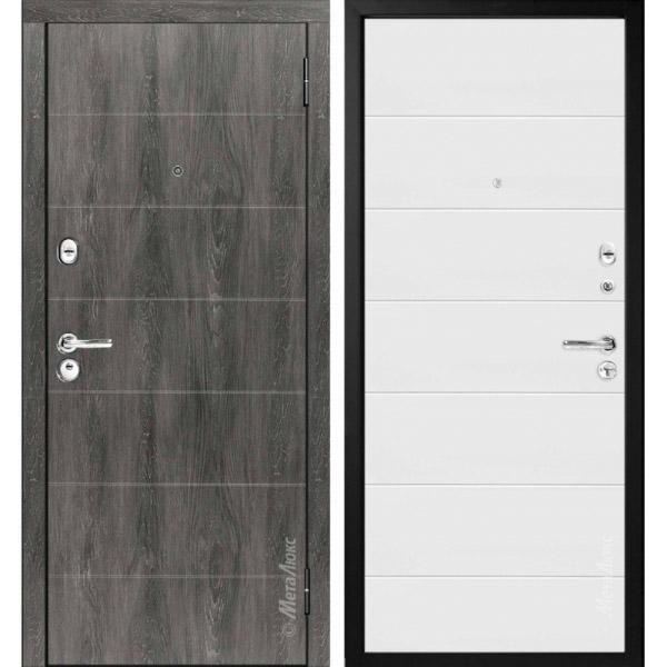 Дверь входная металлическая МетаЛюкс М53/1