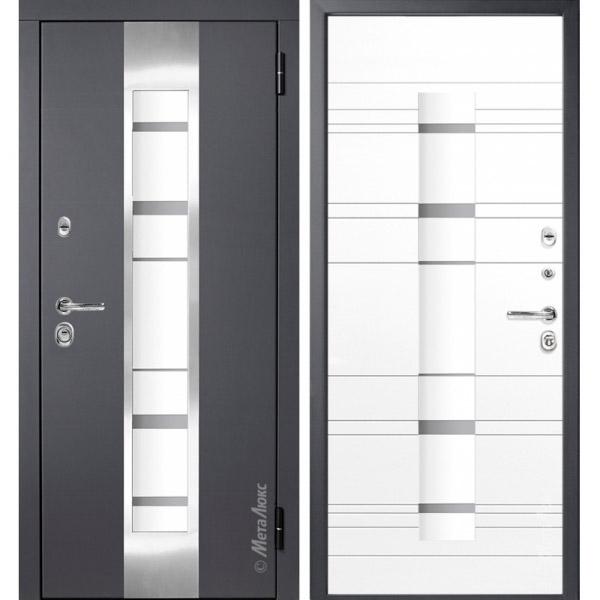 Дверь входная металлическая МетаЛюкс М66/1