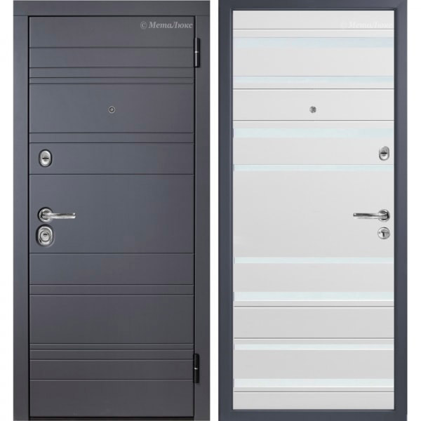 Стальная дверь МетаЛюкс М700/2 СТАТУС