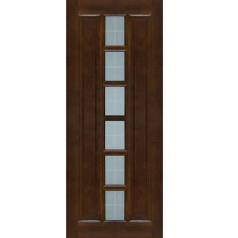 Межкомнатная дверь из массива сосны ПМЦ ДО М11 Темный лак