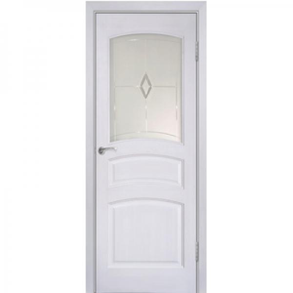 Межкомнатная дверь из массива сосны Модель №16 ДО