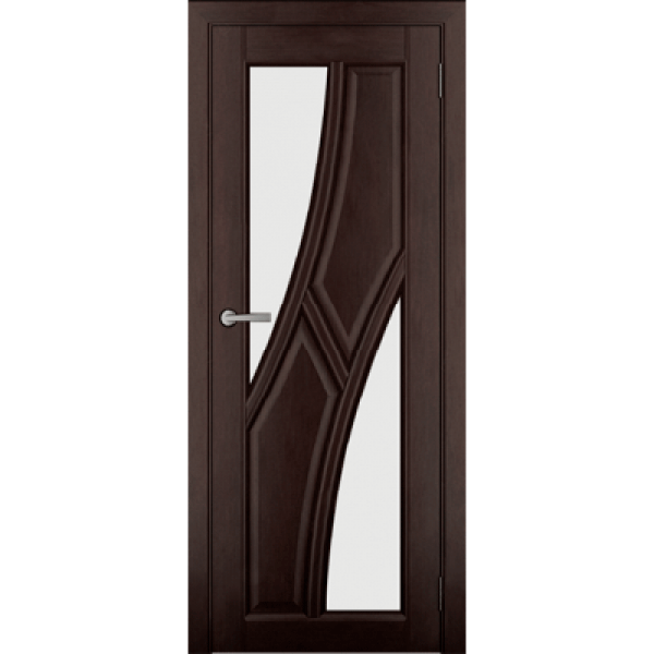 Дверь массив Ольхи Дорвуд  Клэр ЧО 2 Венге