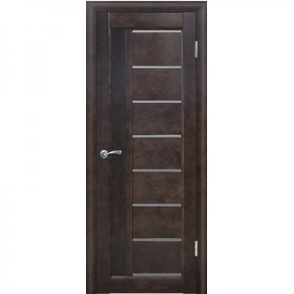 Межкомнатная дверь из массива сосны 8 Вега ЧО
