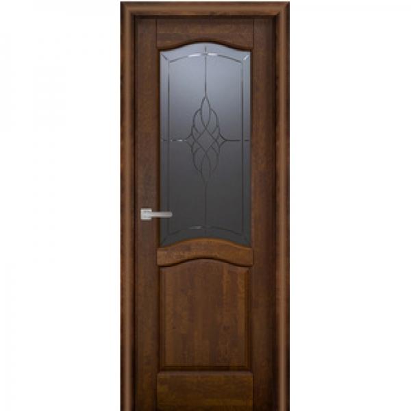 Дверь массив Ольхи Лео м. ДО