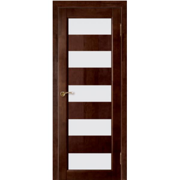 Межкомнатная дверь из массива сосны Модель №2 мателюкс ДО