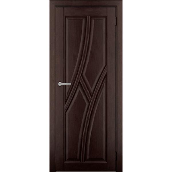 Дверь массив Ольхи Дорвуд  Клэр ДГ Венге