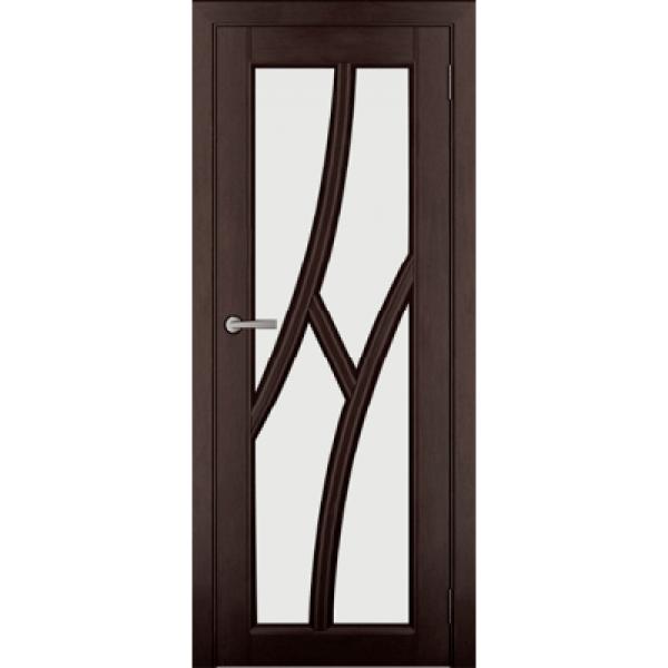 Дверь массив Ольхи Дорвуд  Клэр ДО Венге