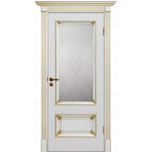 Межкомнатная дверь  Барокко 12 патина