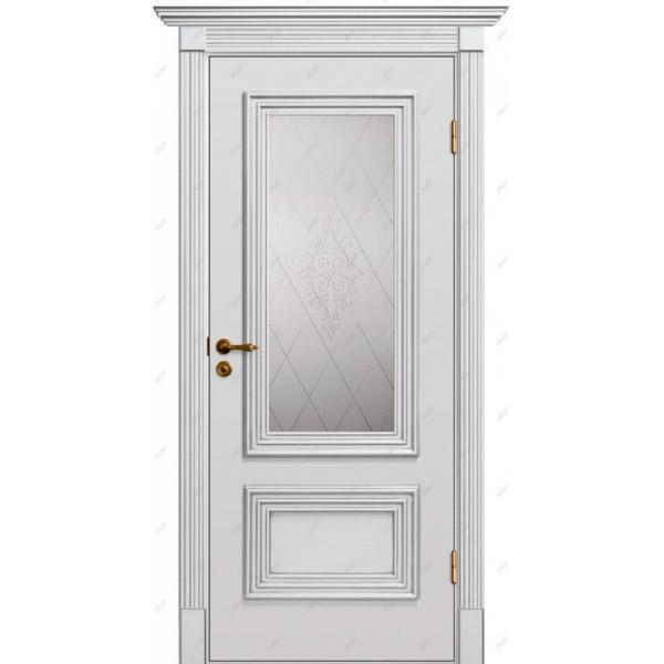 Межкомнатная дверь Прованс патина 12